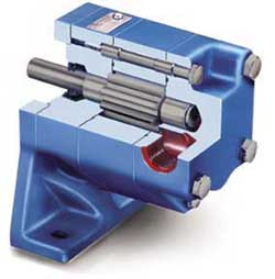 External gear pump.